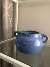 Load image into Gallery viewer, Vintage Medalta Pottery Bean Pot without Lid, Circa 1930  #2 - Blue