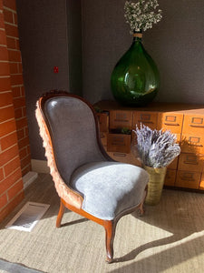 Vintage Reupholstered Sleeper Chair