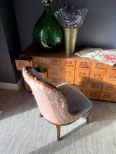 Load image into Gallery viewer, Vintage Reupholstered Sleeper Chair