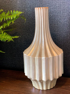 Urban Ribbed Vase