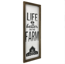 Load image into Gallery viewer, Life is Better on the Farm Wall Art