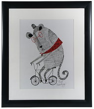 Load image into Gallery viewer, Hallmark Animal Illustration Framed Wall Art