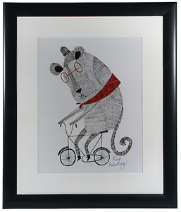 Hallmark Animal Illustration Framed Wall Art