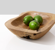 Load image into Gallery viewer, Teak Bowl