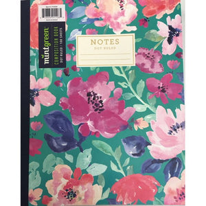 Fabric Bound Notebook, College Ruled,