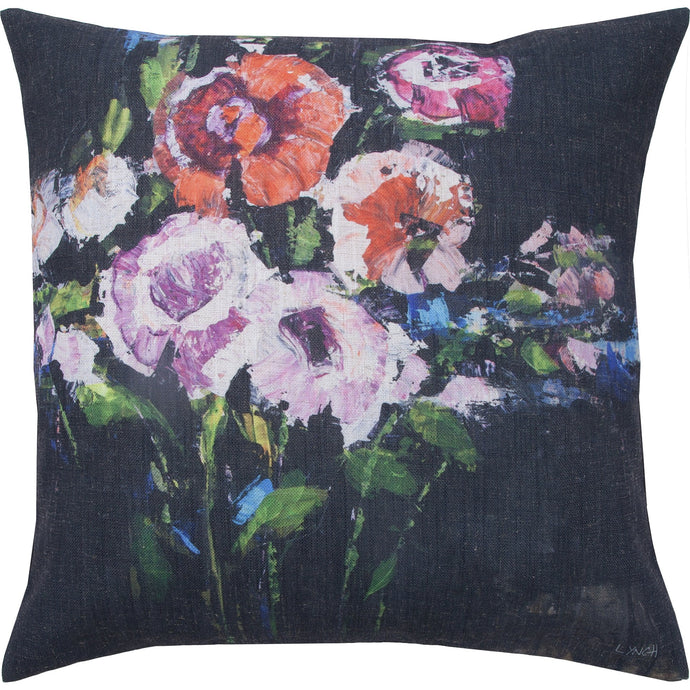 Floral Doris Toss Pillow