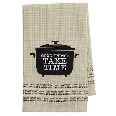 Tea Towels - Good things take time