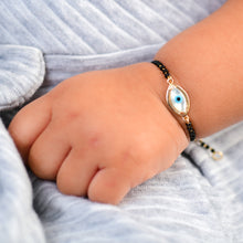 Load image into Gallery viewer, Baby Marquise Evil Eye Nazar Bead Bracelet