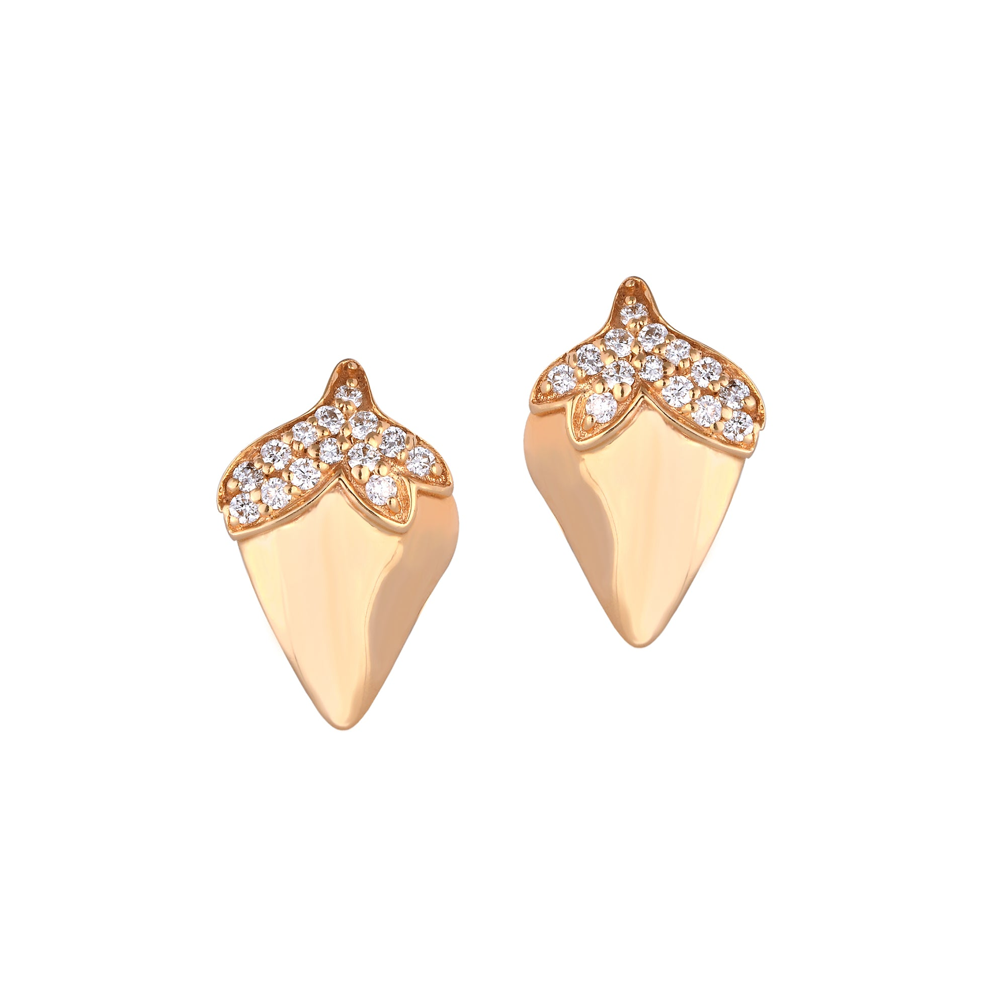 Strawberry Diamond Studs