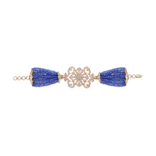 Load image into Gallery viewer, Diamond and Tanzanite Bead Bracelet