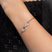 Load image into Gallery viewer, Infinity Diamond Chain Bracelet
