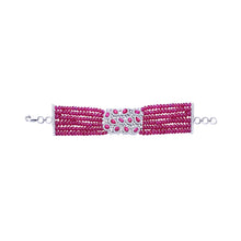 Load image into Gallery viewer, Ruby and Diamond Bracelet