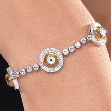 Load image into Gallery viewer, Citrine Donut Bracelet