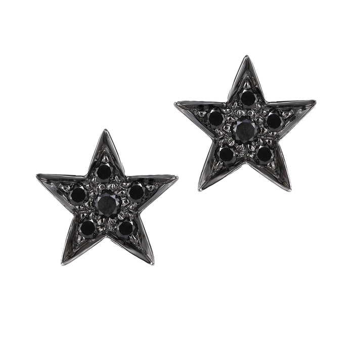 Big Star Black Diamond Studs