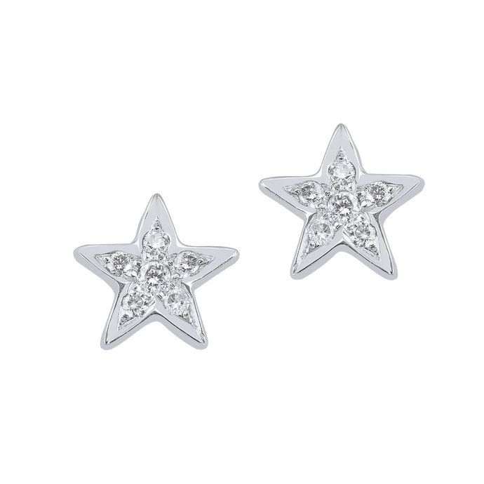 Big Star Diamond Studs