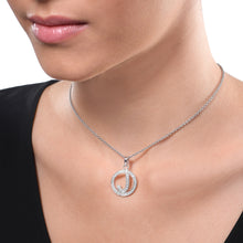 Load image into Gallery viewer, Personalised Diamond Initial Chain Pendant