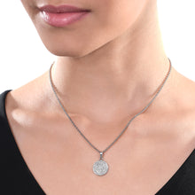 Load image into Gallery viewer, Round Diamond Chain Pendant