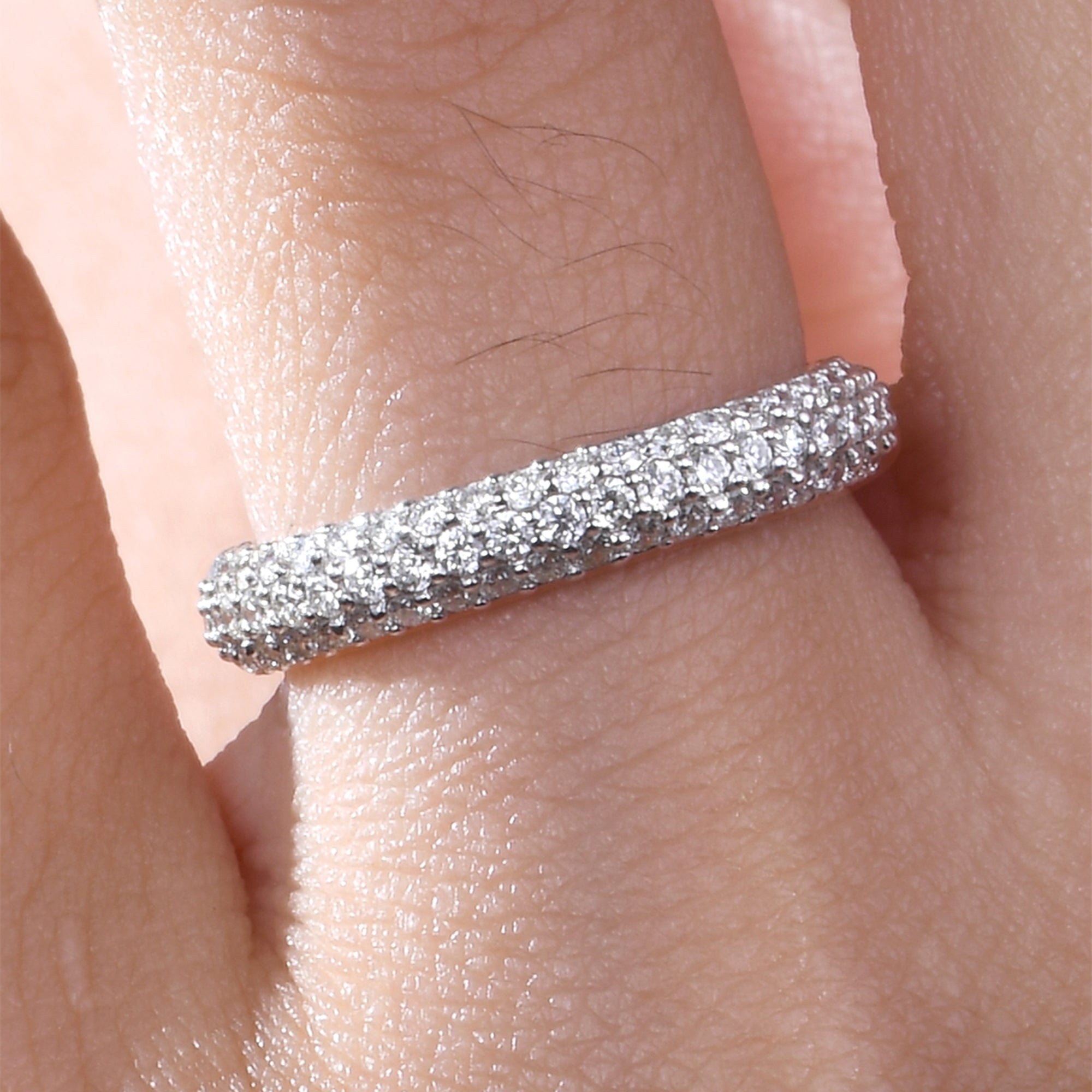 Diamond Stackable Classic Ring