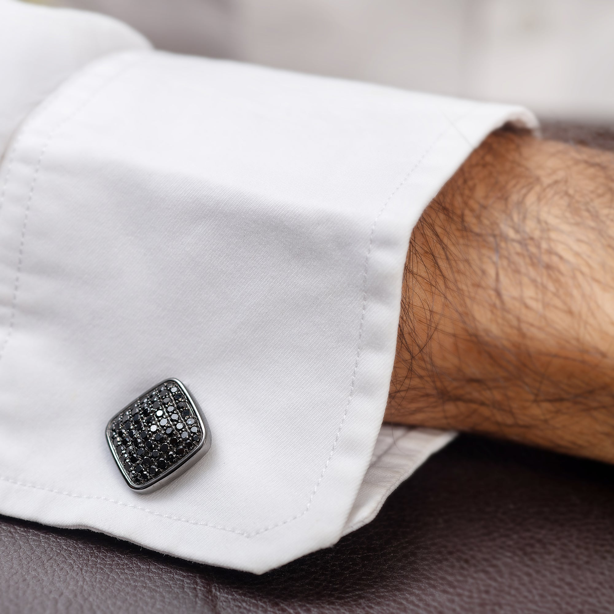 Black Diamond Cufflinks