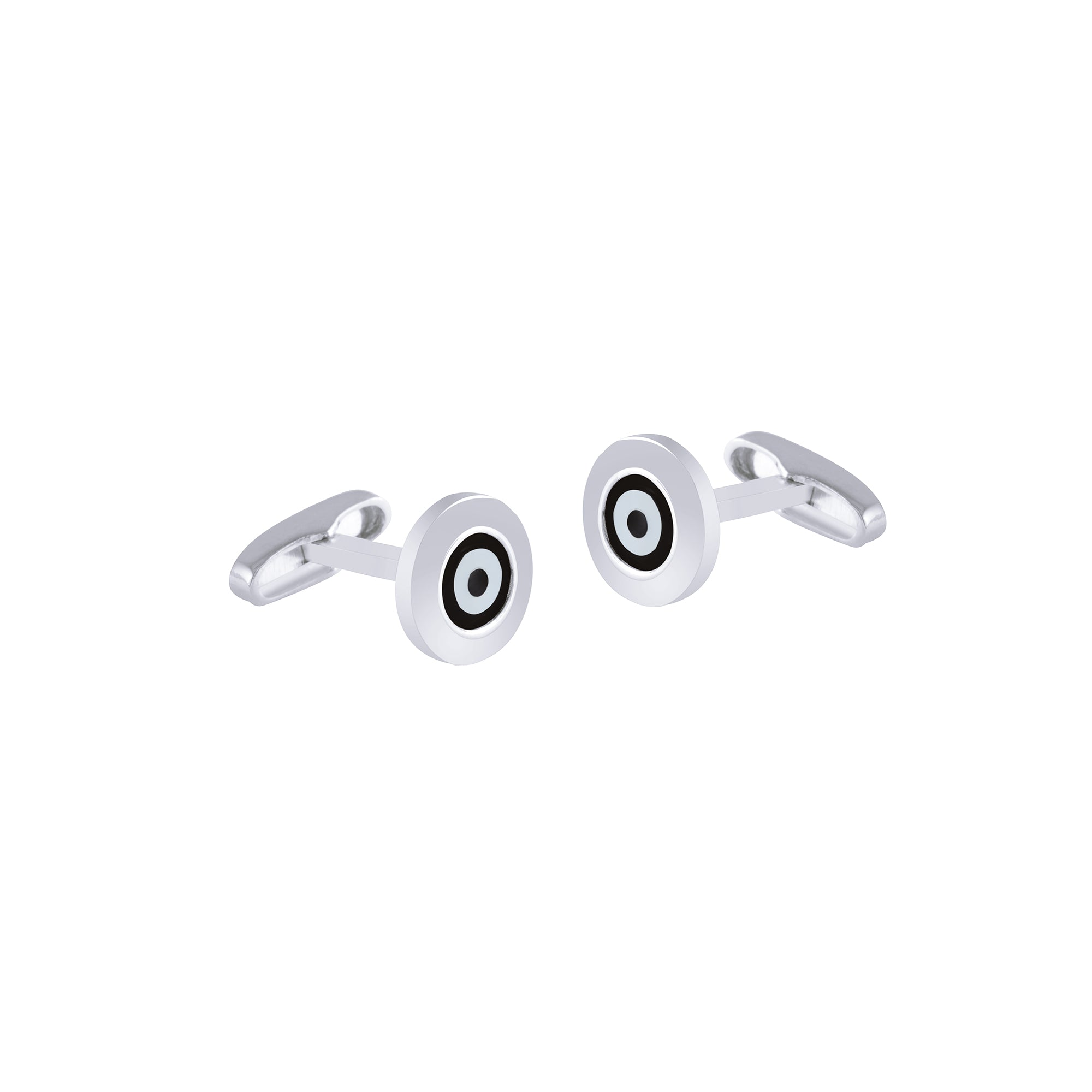 Black Onyx Evil Eye Cufflinks