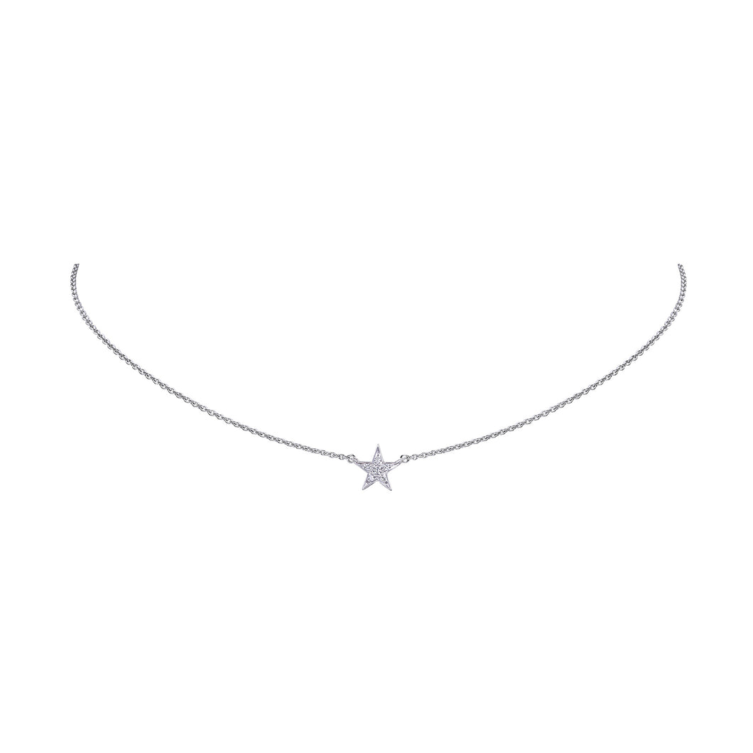 Star Diamond Chain Pendant