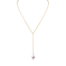 Load image into Gallery viewer, White Pearl Chain Pendant