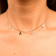 Load image into Gallery viewer, Personalised Diamond Chain Necklace