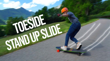Learn to Toeside Stand Up Slide on your Longboard in 4 Steps