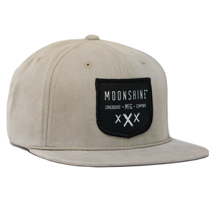 Moonshine Shield Snapback - Tan