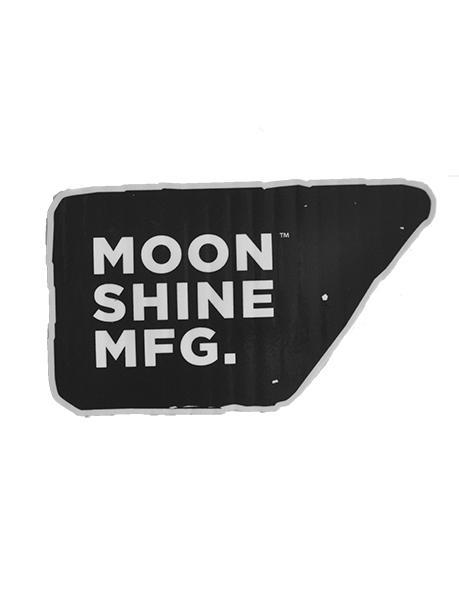 Moonshine International Sticker - Moonshine Mfg