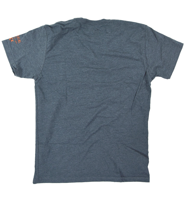 Typestack Charcoal Tee - Moonshine Mfg