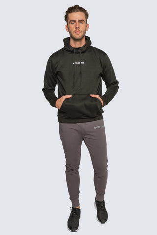 Amidst The Hustle Hoodie - Black
