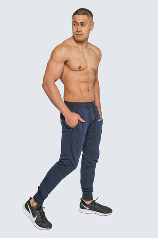 INTREPID ATHLETE INSIDE TRACK PANT BLUE