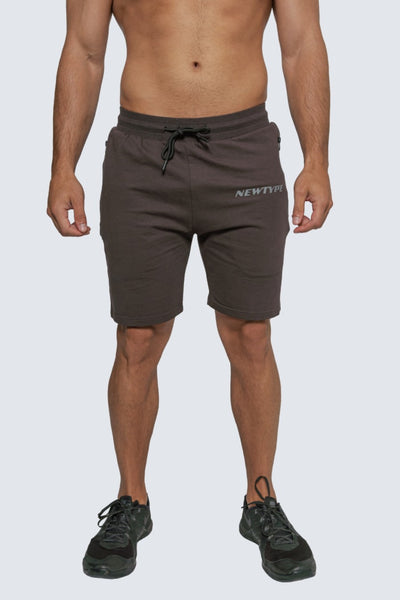 Intrepid Athlete Inside Track Short - Charcoal