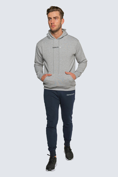 AMIDST THE HUSTLE GREY HOODIE