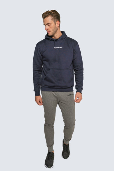 Amidst The Hustle Hoodie - Navy