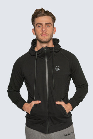 Intrepid Athlete Inside Track Hoodie - Black