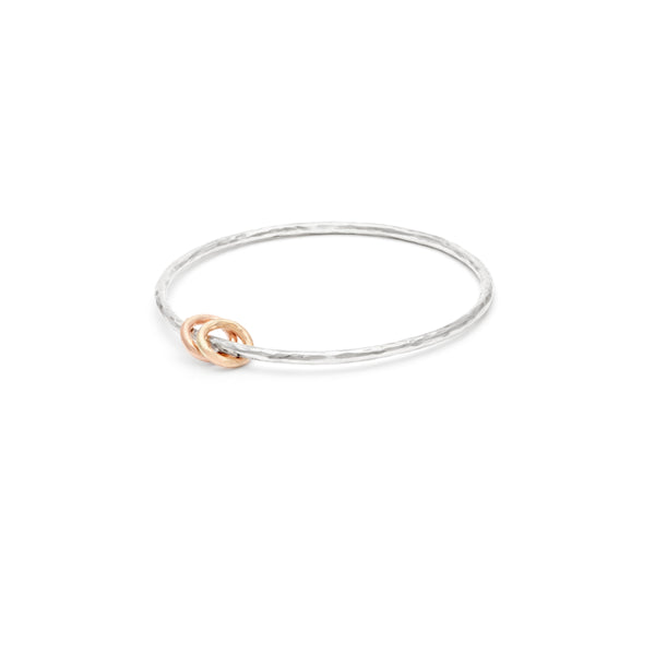 """Mommy"" Bangle - 2 rings"
