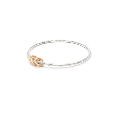 """Mommy"" Bangle - 3 rings"