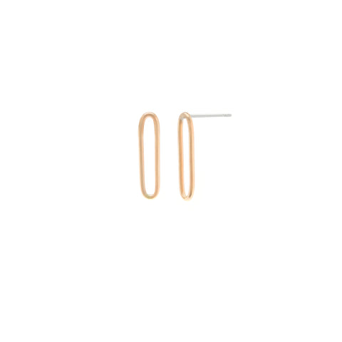 Single Link Earrings