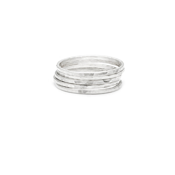 Simple Stackers - Silver Hammered