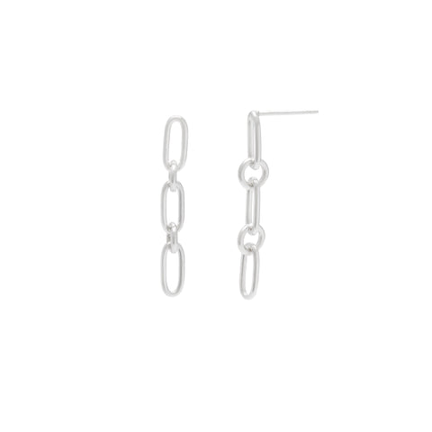 Medium Link Chain Earrings