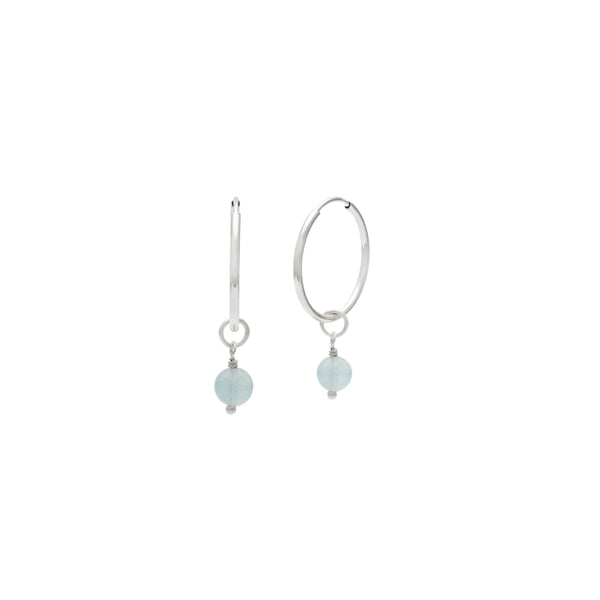 Sterling Silver Full Hoop Earrings