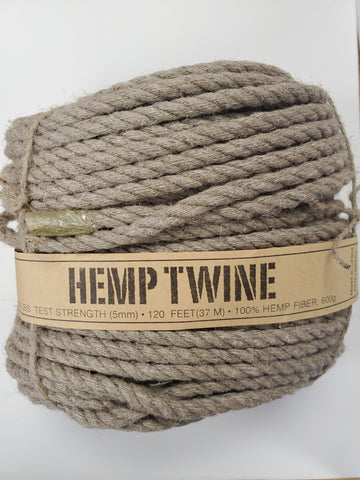 HEMP TRADERS 5mm Hemp Rope