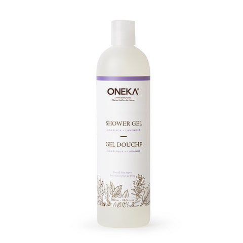 ONEKA All Natural Hemp Oil Shower Gel