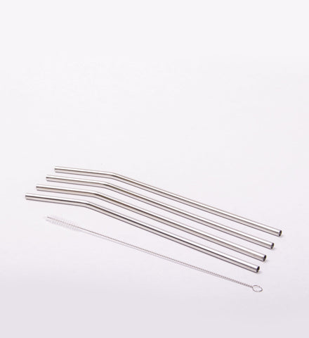 ONYX Stainless Steel Straw Set