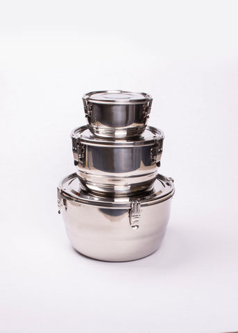 ONYX Round Stainless Steel Container