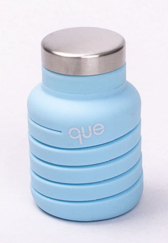 QUE Silicon and Stainless Steel Expandable Bottle
