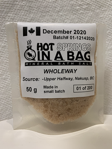 Hot Springs in A Bag