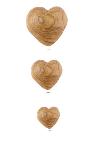 TWIGZ Olive Wood Hearts
